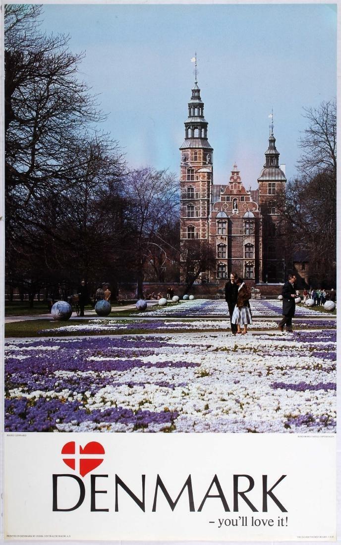 Travel Poster Denmark You'll love it! Image: Rosenborg