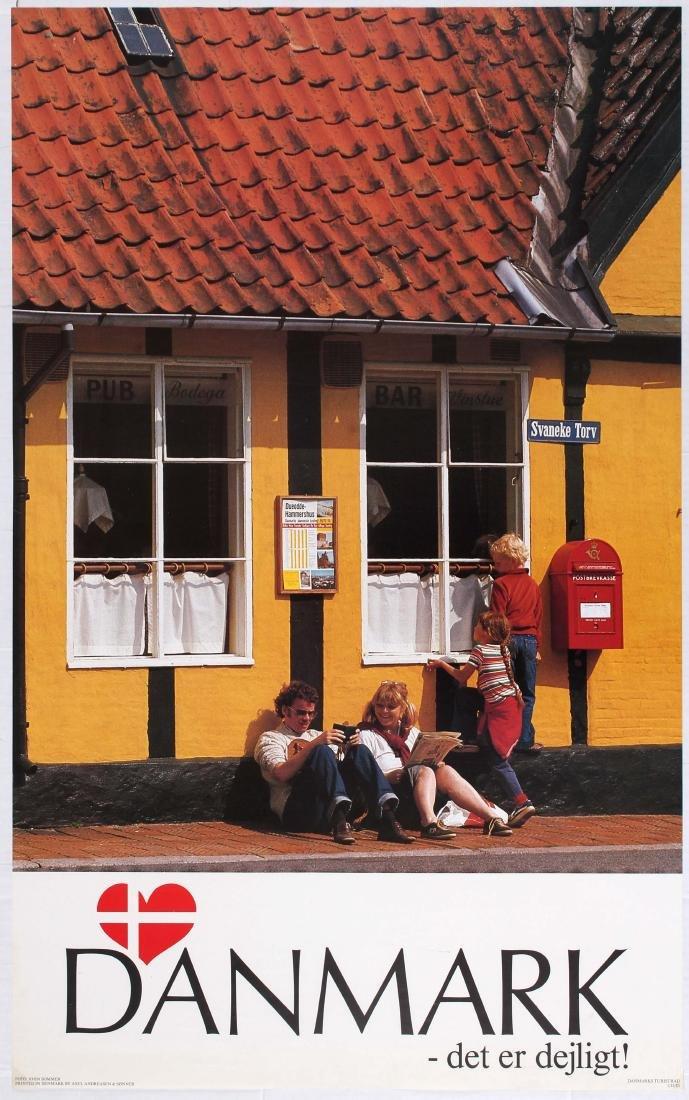 Travel Poster Denmark It's great!