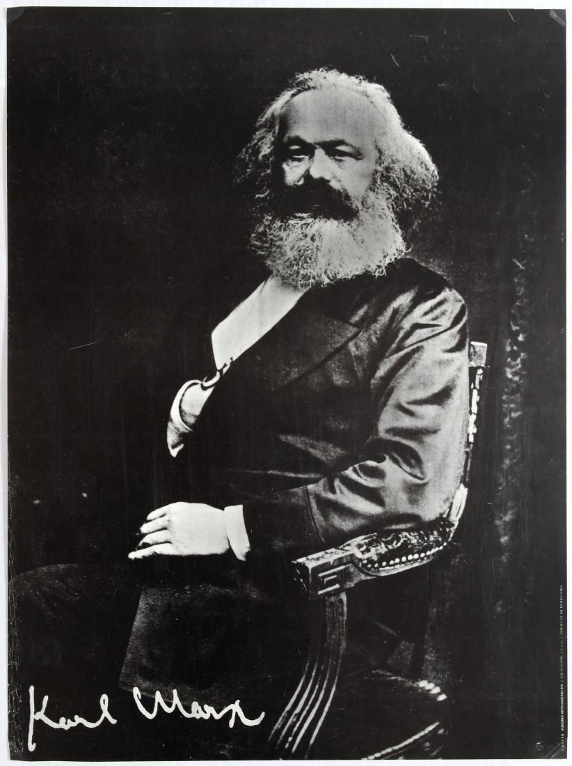 Soviet Propaganda Poster Karl Marx Holland