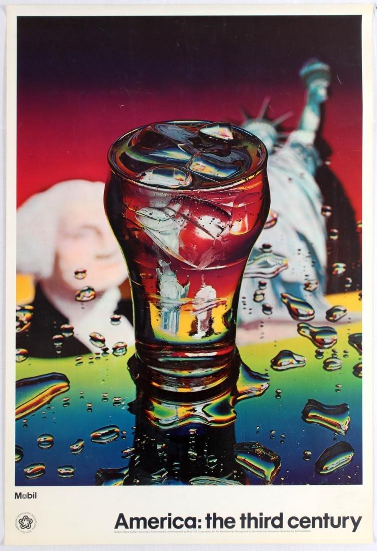Advertising Poster America Yankee Flame Ben Schonzeit