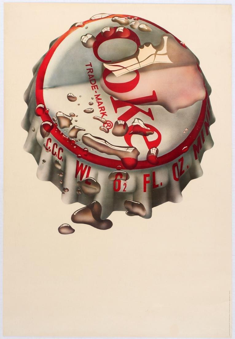 Advertising Poster Pop Art Coke Michael English 1970