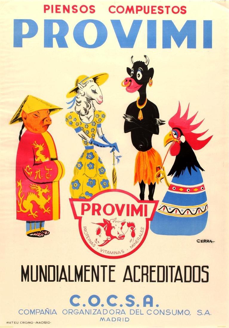 Advertising Poster Provimi Premix