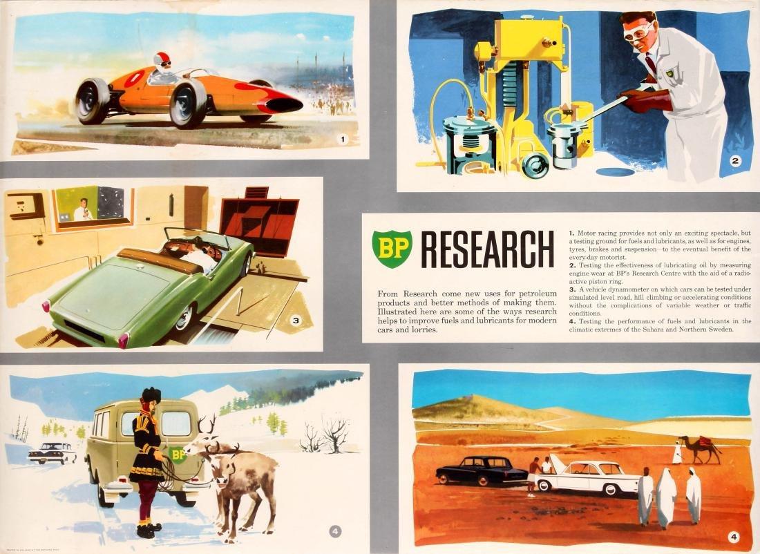 Advertising Poster BP Oil Research