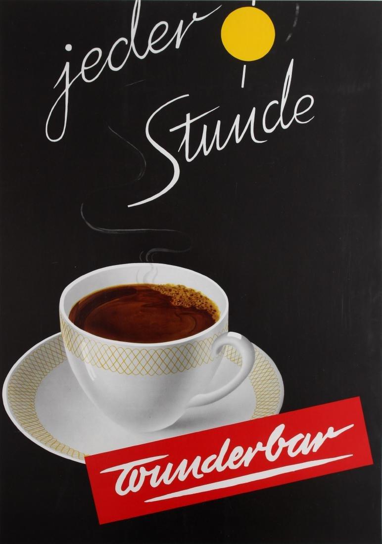 Advertising Poster Wunderbar Coffee