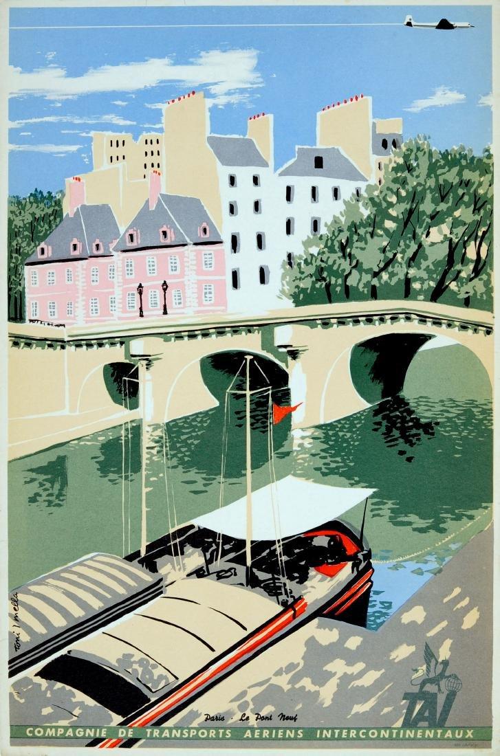 Travel Poster Paris TAI