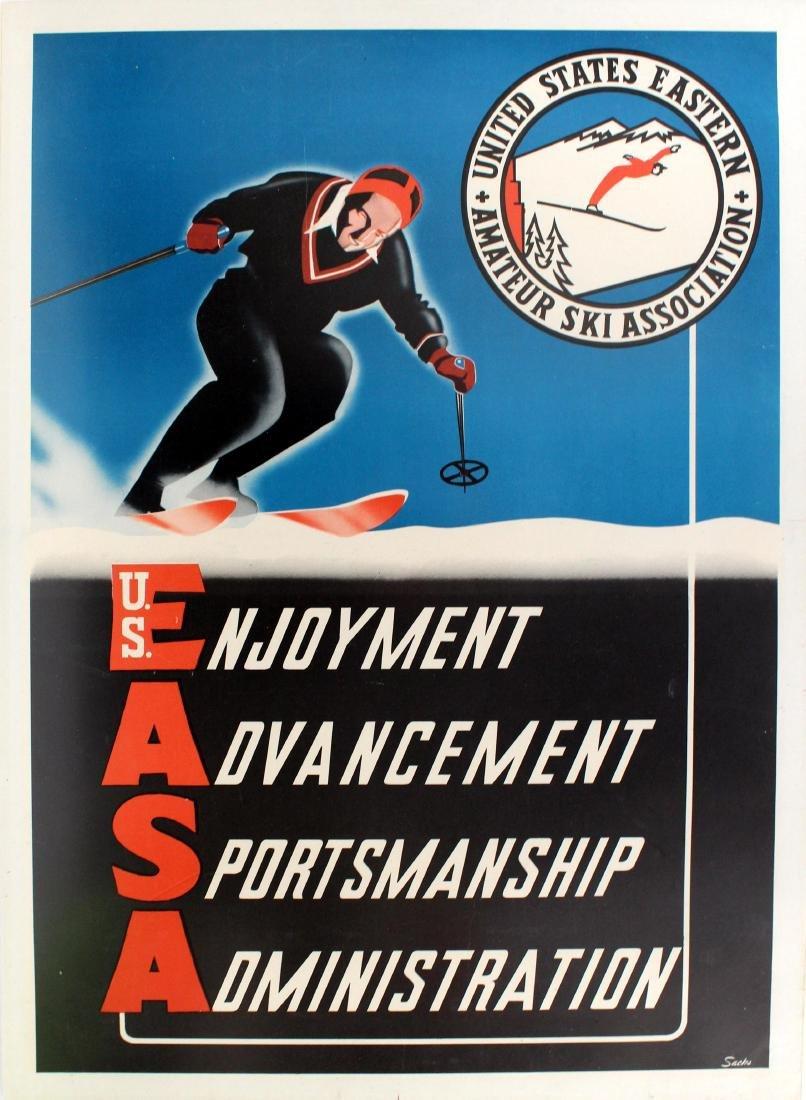 Ski Poster US Eastern Amateur Ski Association