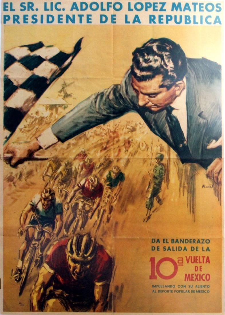 Sport Poster Cycling Vuelta de Mexico
