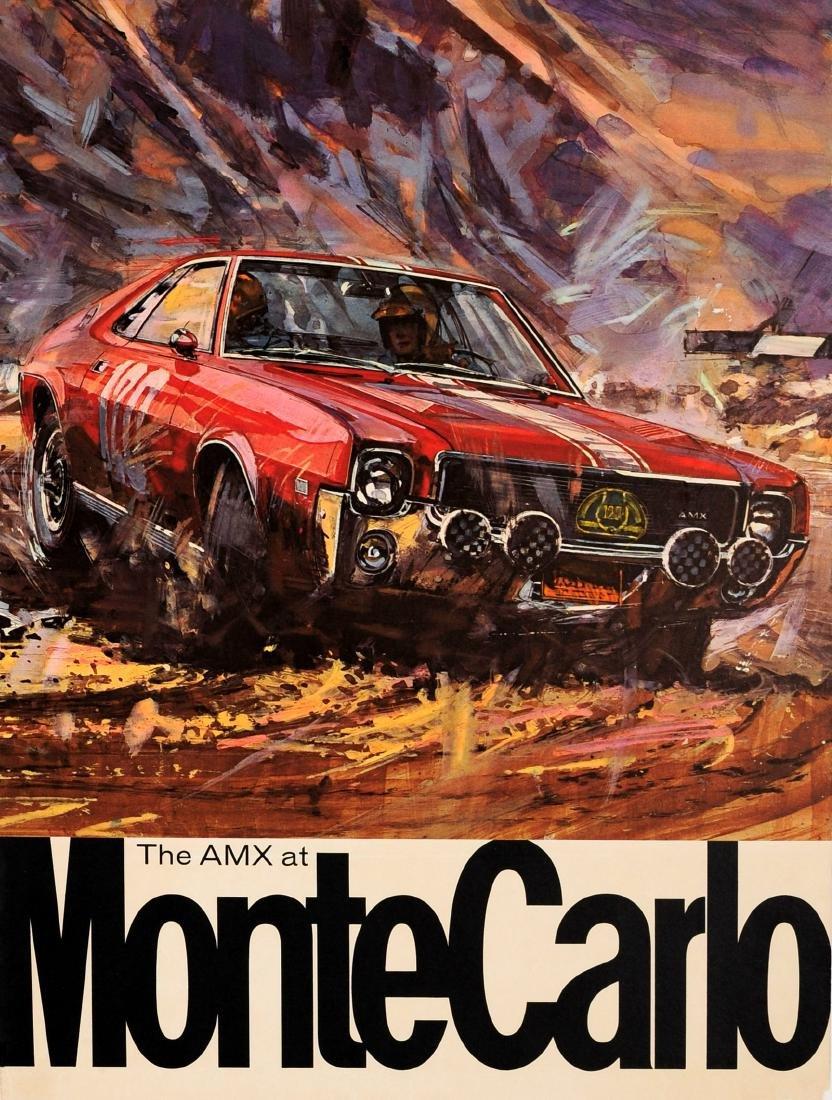 Sport Poster AMC AMX Monte Carlo