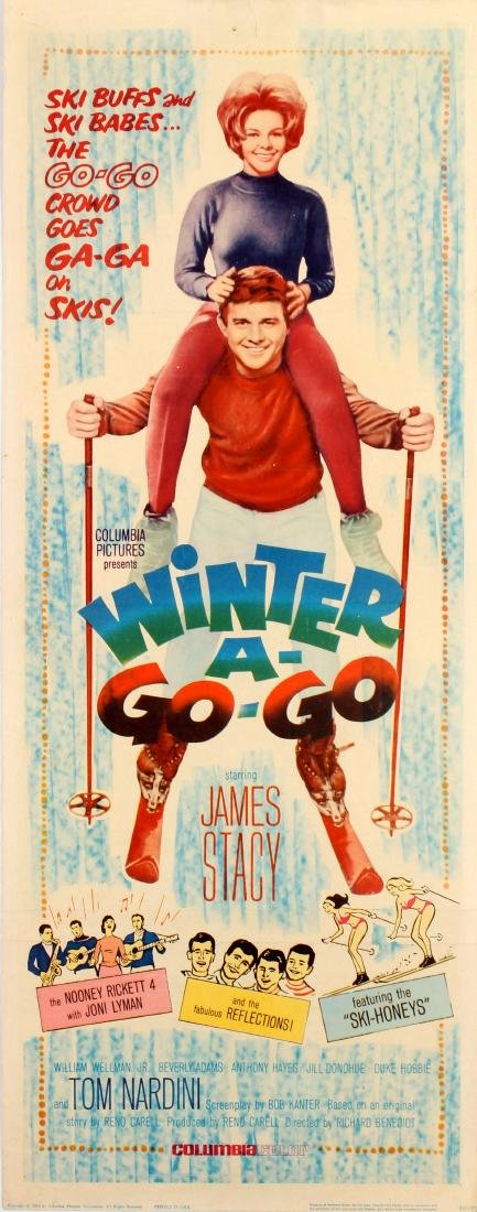 Movie Poster Winter A Go Go Skiing
