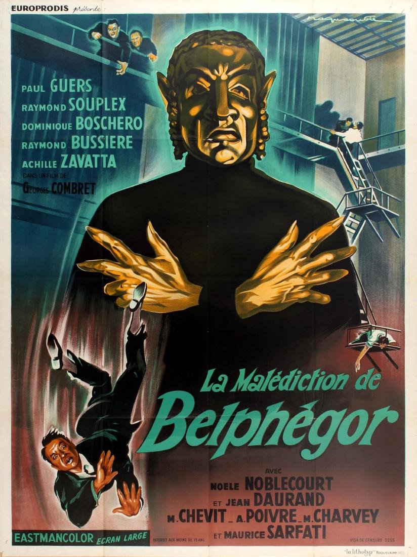 Movie Poster The Curse of Belphegor Horror