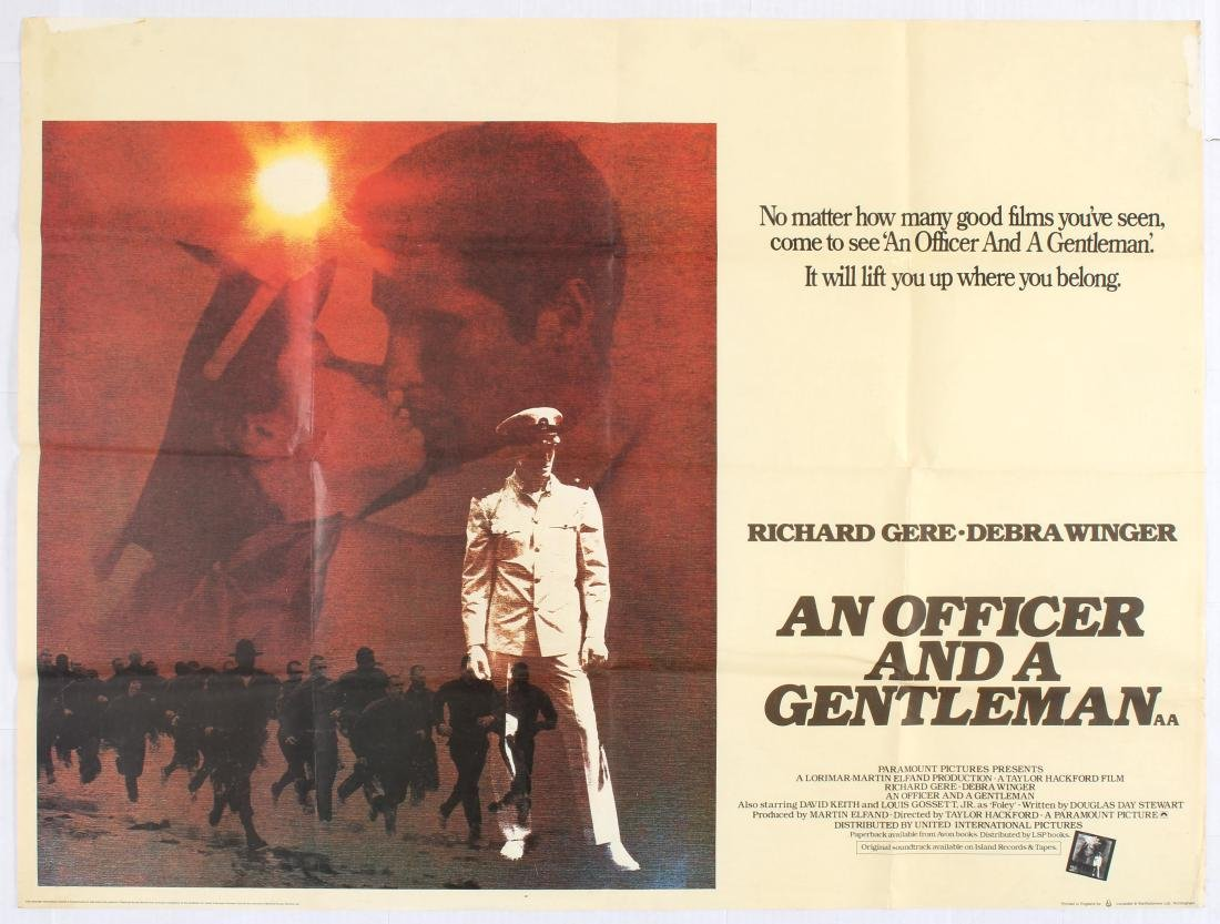 Movie Poster An Officer and a Gentleman Starring