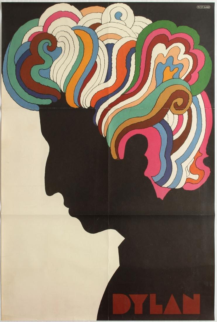 Advertising poster Dylan Milton Glaser