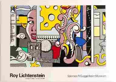 Art Exhibition Poster Lichtenstein Guggenheim Ibrahim