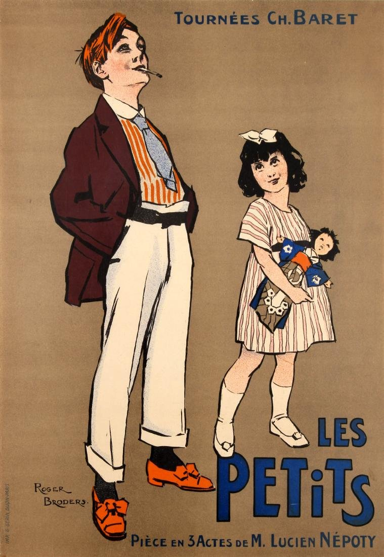 Advertising Poster Les Petits Roger Broders