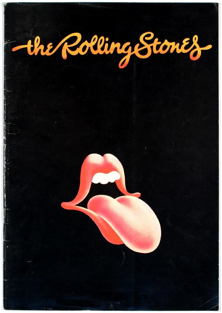 Concert Tour Programme Rolling Stones Australia
