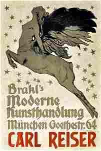 Advertising Poster Modern Art - Carl Reiser