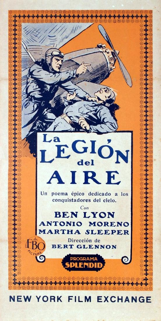 Cinema Poster The Air Legion