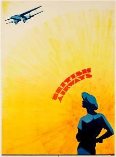 Advertising Poster British Airways Sven Brasch