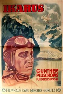 Cinema Poster Ikarus Fighter Pilot Nazi Germany