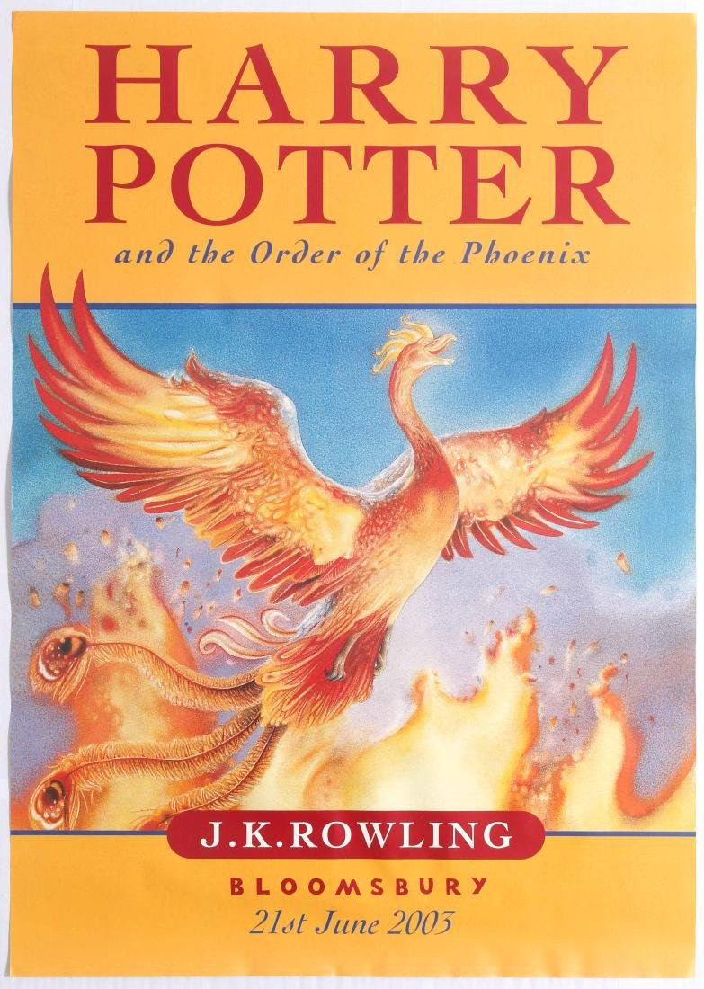 Original Advertising Poster Harry Potter and the Order