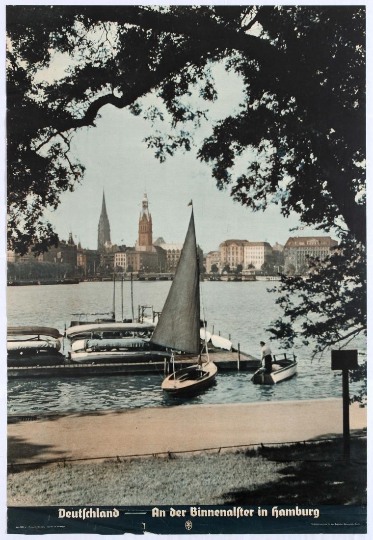 Group 4 Original Travel Posters Germany Deutschland