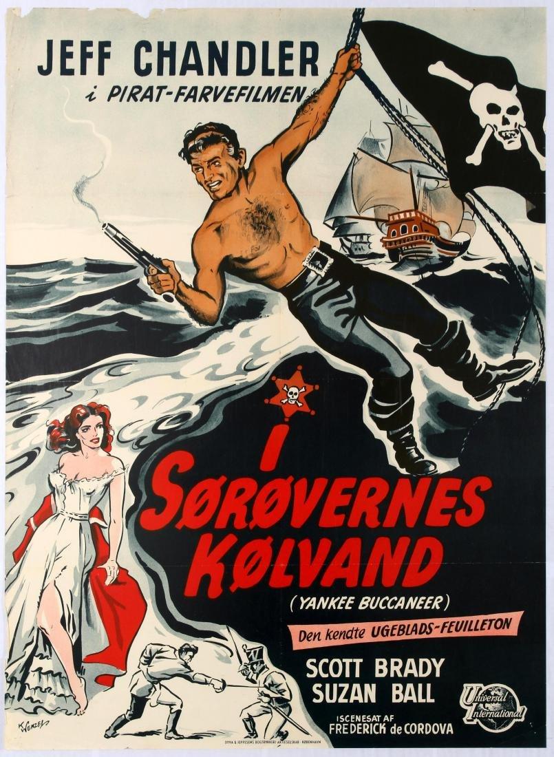 Original Movie Poster Yankee Pasha Danish film poster