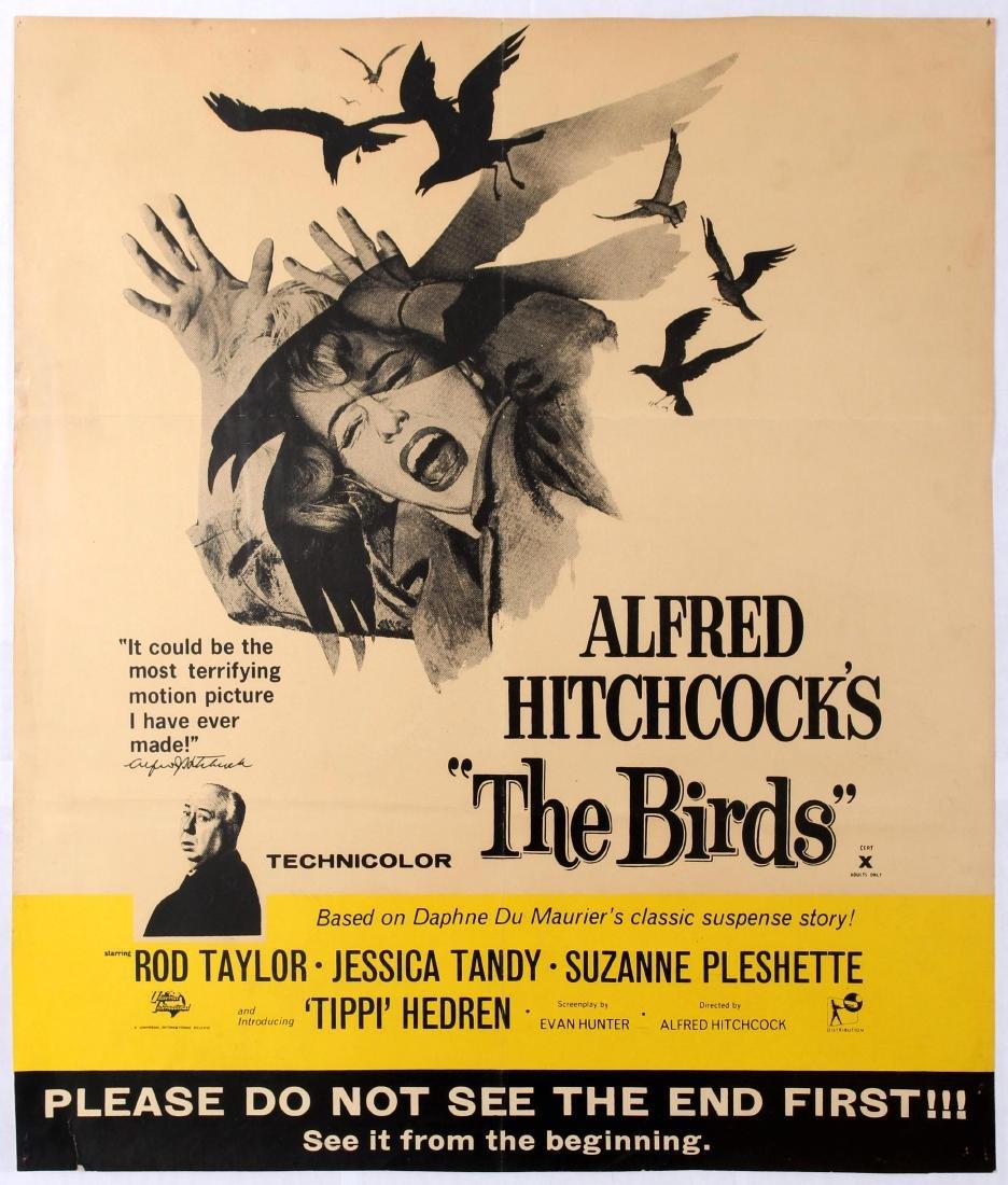 Original Movie Poster The Birds Hitchcock UK Advance