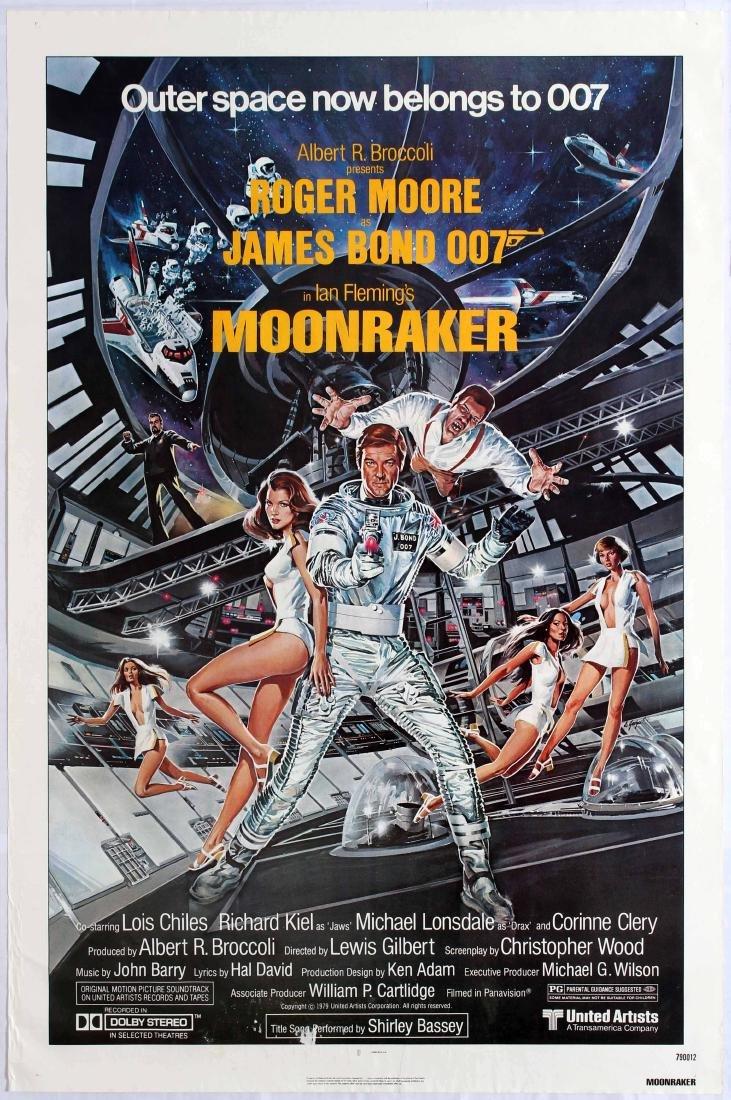 Original Movie Poster Moonraker James Bond USA