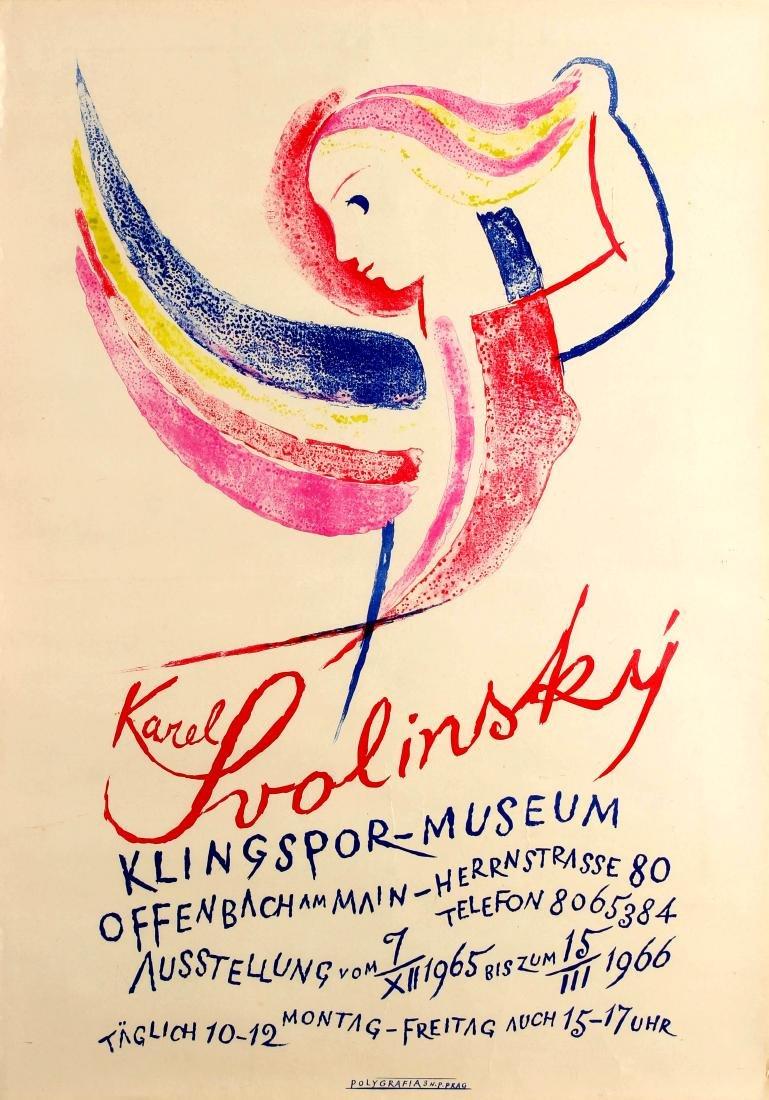 Original  Advertising Poster Karel Svolinsky Art