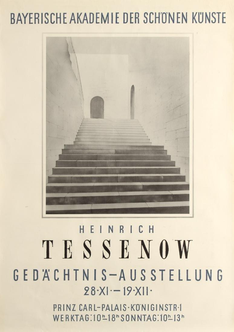Original  Advertising Poster Heinrich Tessenow