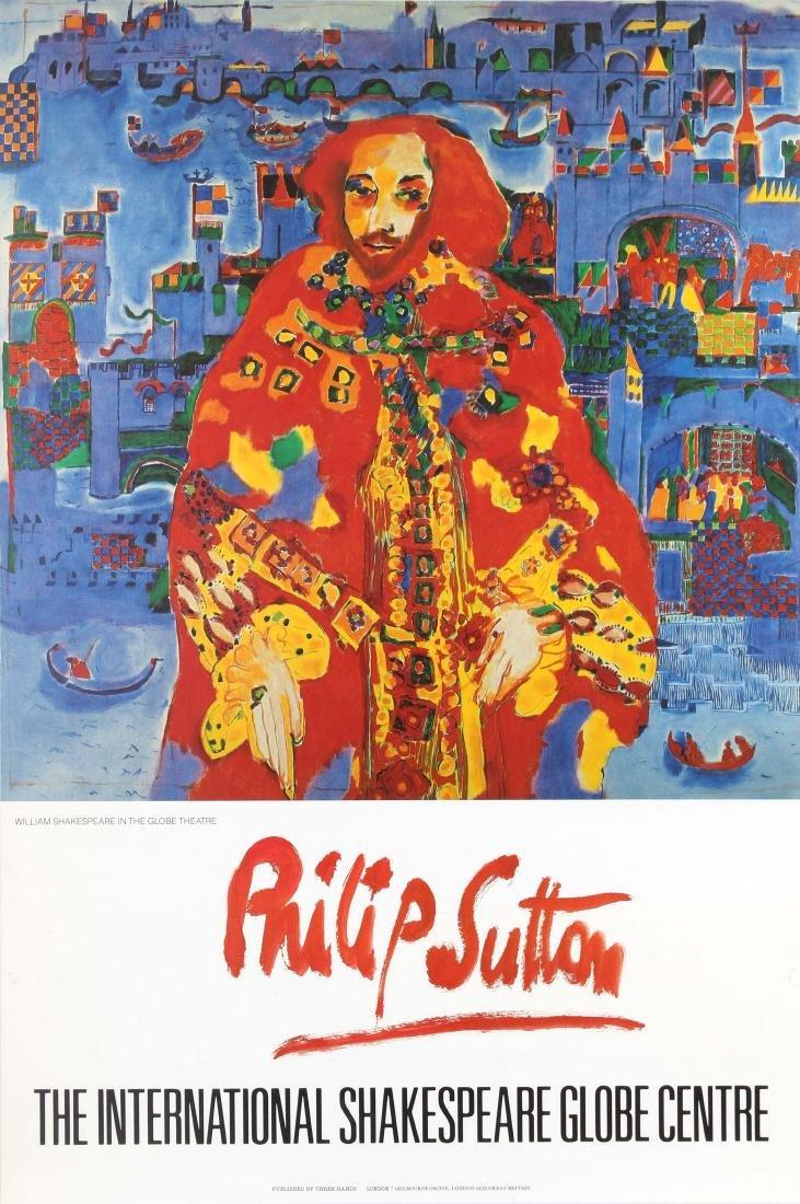 Original  Advertising Poster Philip Sutton The