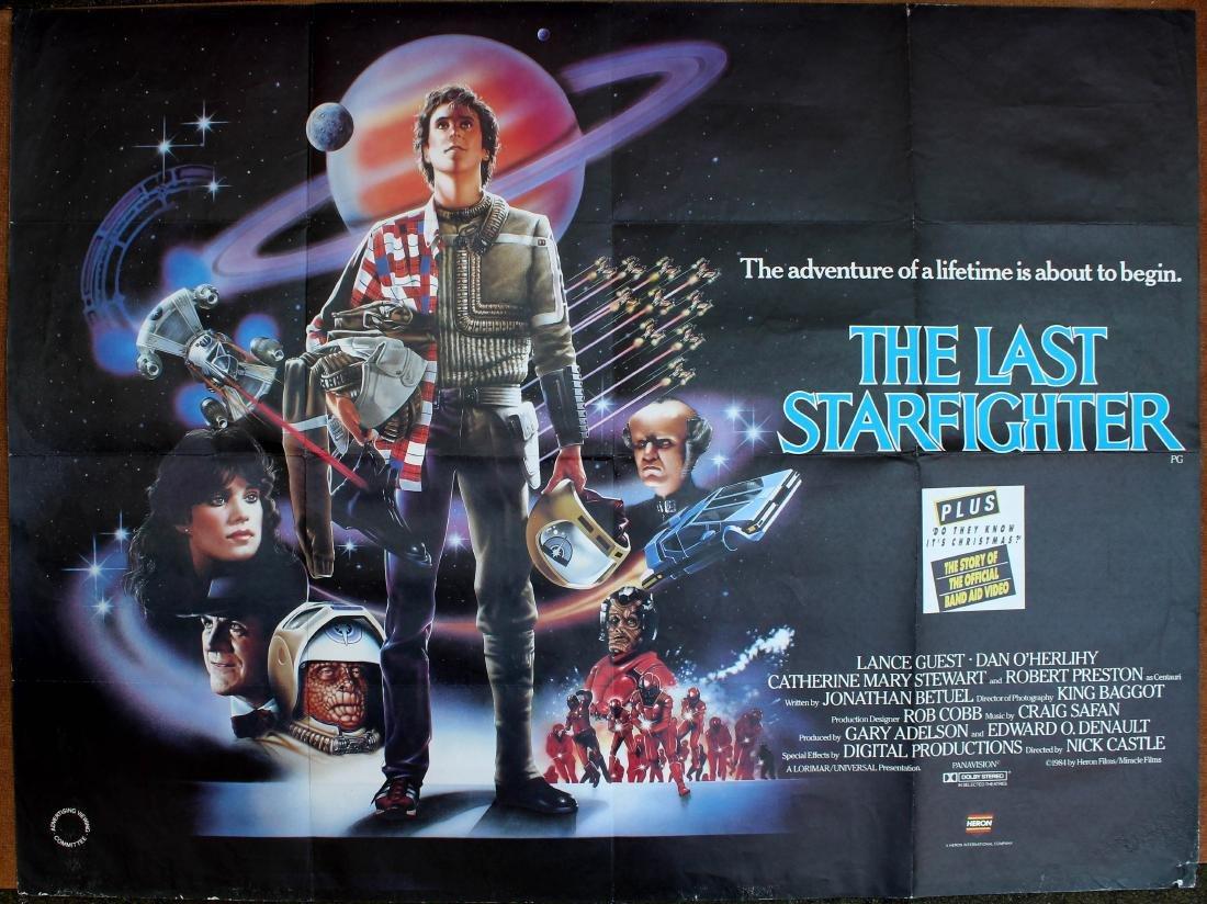 Movie Poster The Last Starfighter Fantasy SciFi