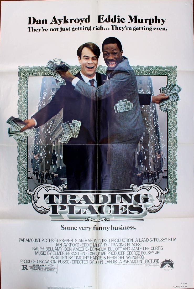 Movie Poster Trading Places Eddie Murphy