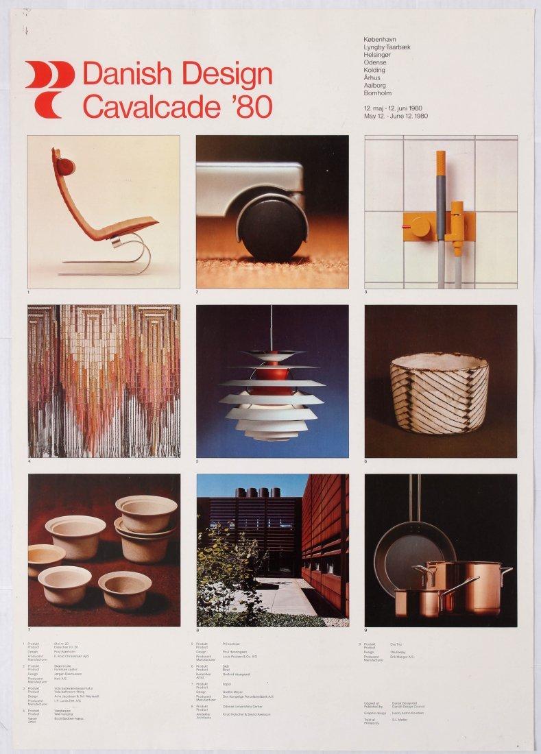 2 Advertising Posters Danish Design Cavalcade - 2