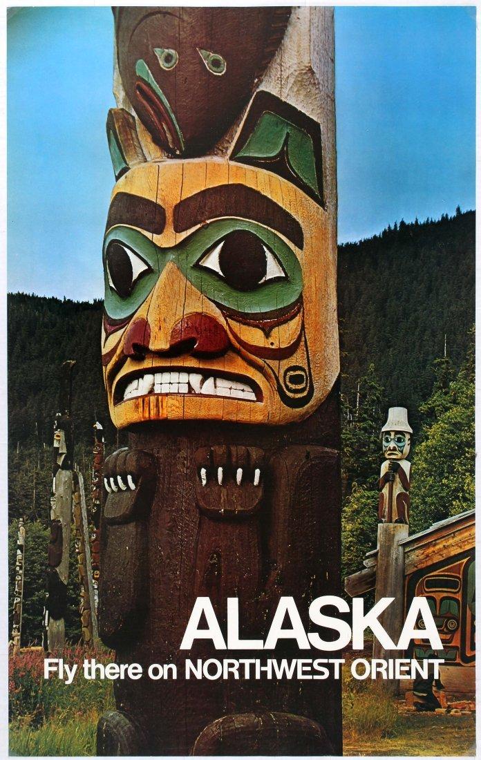 3 Travel Posters Alaska Northwest Mexico Pennsylvania