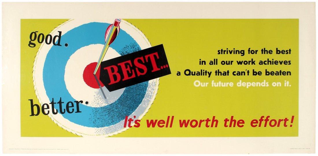 3 Motivational Posters Archery Waste Money Drain Cake