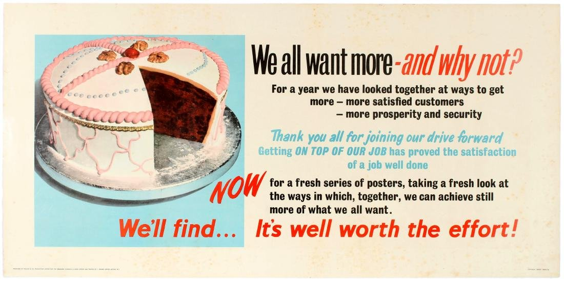 3 Motivational Posters Archery Waste Money Drain Cake - 2