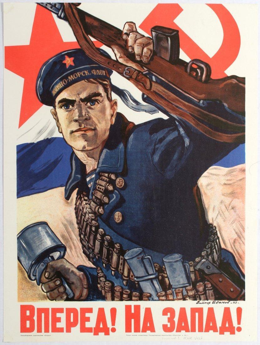 8 Propaganda Posters USSR Army War Revolution Germany