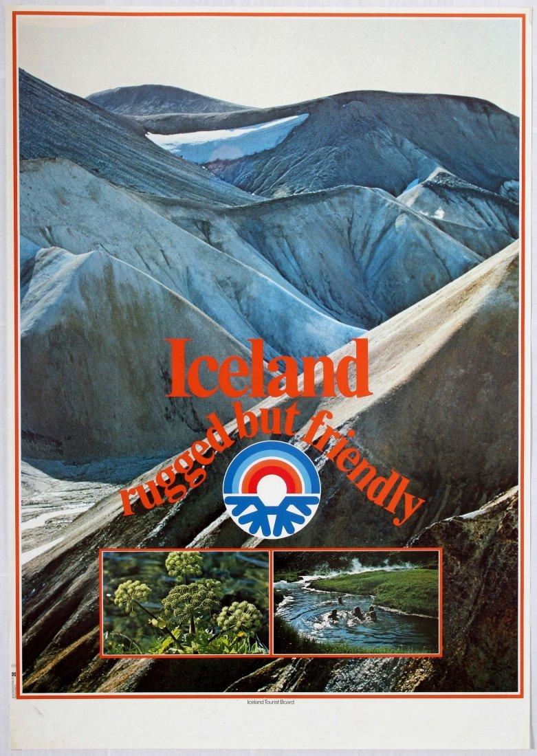 5 Travel Poster Iceland Britain Netherland Spain