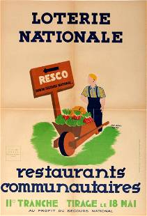 Advertising Poster Vegetable Growing Communal