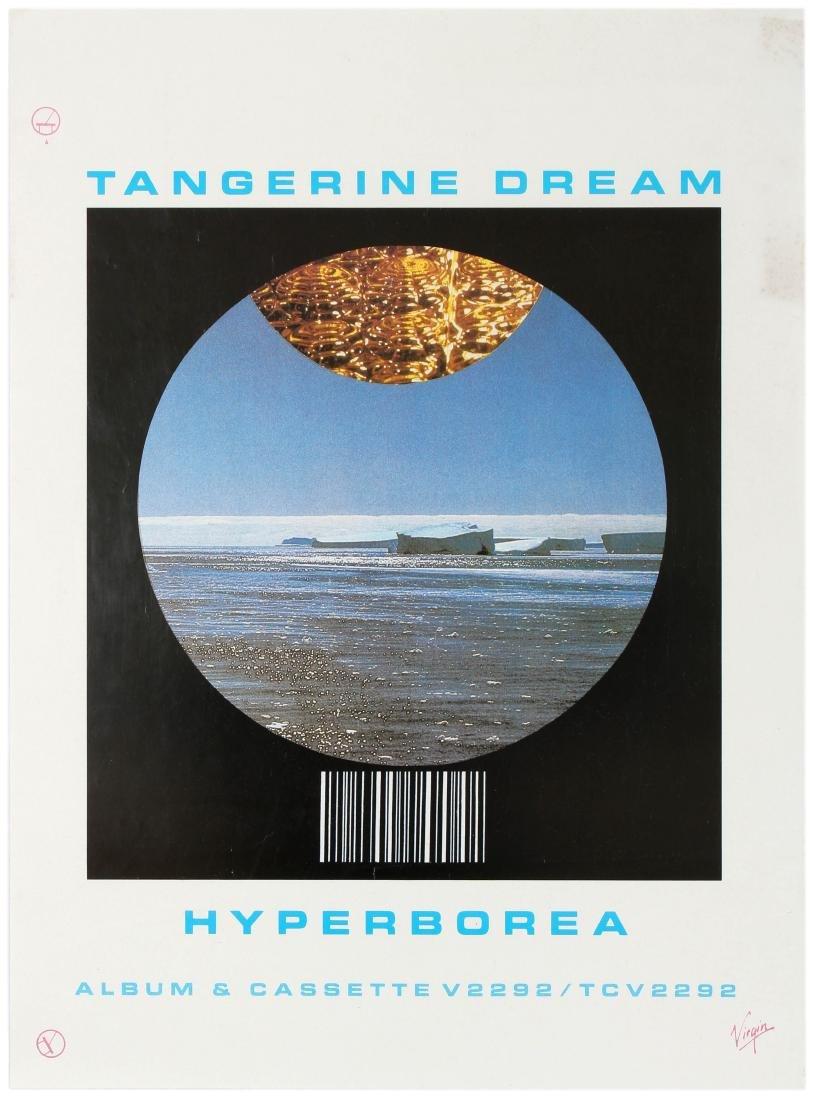 Advertising Poster Tangerine Dream Hyperborea