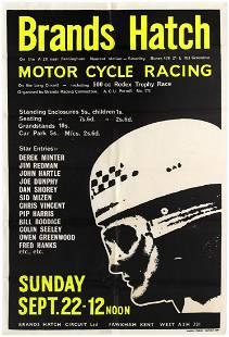 Sport Poster Brands Hatch Motorcycle Racing Derek