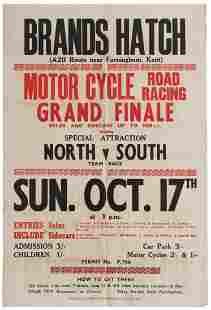 Sport Poster Brands Hatch Motorcycle Road Racing Grand