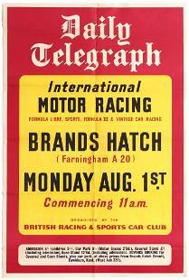 Sport Poster Brands Hatch International Motor Car