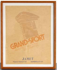 Advertising Poster Cassandre Jamet La Casquette Grand