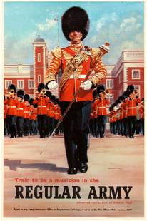 Propaganda Poster Military Orchestra Musician Regular