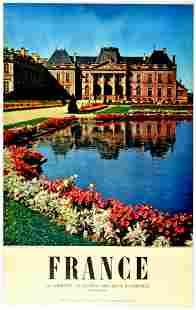 Travel Poster France Lorraine Chateau des Ducs