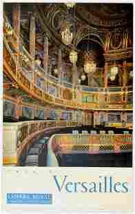 Travel Poster Versailles Opera Royal France