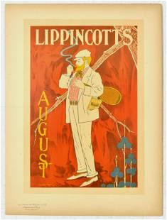 Advertising Poster Lippincotts August Maitres de