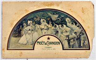 Advertising Poster Moet and Chandon Champagne Wine